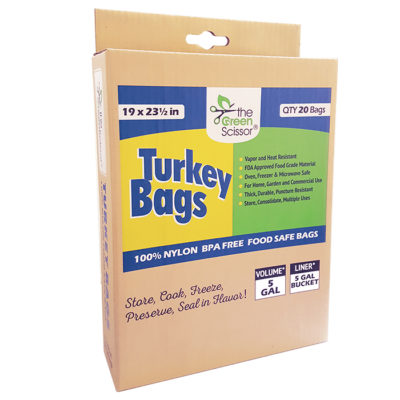 The Green Scissor Turkey Bags 20 pack