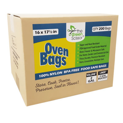 The Green Scissor Oven Bags - 200 box