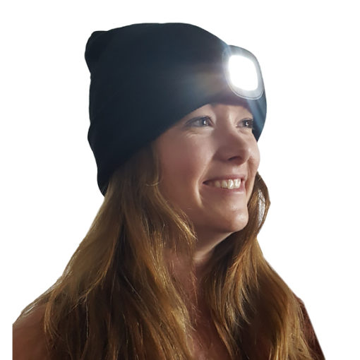 Headlamp Beanie by The Green Scissor from Wholesale Harvest Supply
