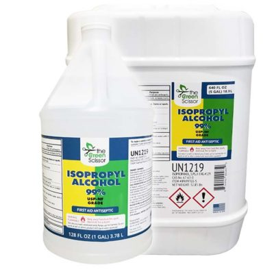 The Green Scissor Isopropyl Alcohol 99% USP-NF First Aid Antiseptic